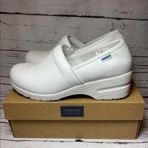 Cherokee Workwear White Slipon Shoes